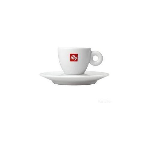 Filiżanka i spodek - illy espresso
