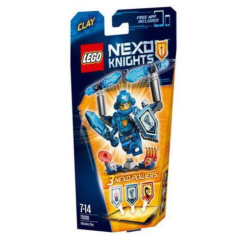 Lego NEXO KNIGHTS Clay (ultimate clay) nexo knights 70330