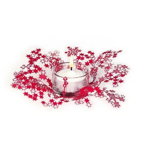 Contento Świecznik świąteczny smila - czerwony