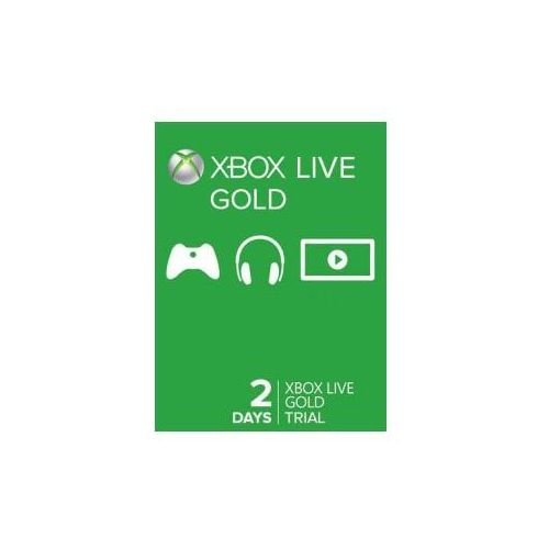 Microsoft Xbox live gold 2 days trial code global (3662168037167)