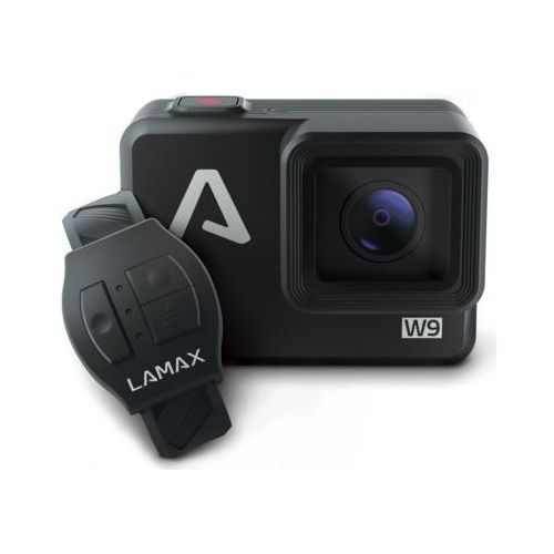 Lamax Kamera sportowa w9 czarny | podkładka antypoślizgowa gratis! darmowy transport