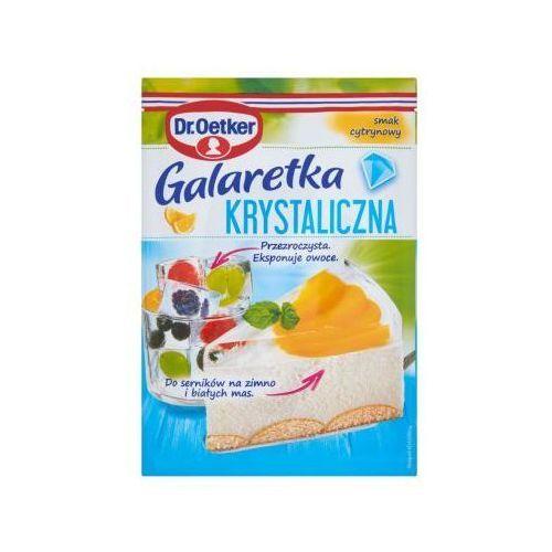 Galaretka krystaliczna smak cytrynowy 77 g  marki Dr. oetker