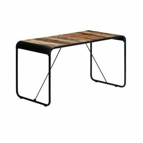 Stół w stylu loft z drewna odzyskanego Relond – wielokolorowy