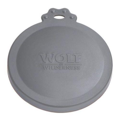 Wolf of wilderness pokrywka na puszki - 3 x Ø 7,5 cm (do puszek 400 g) + 3 x Ø 10 cm (do puszek 800 g) (4054651854969)
