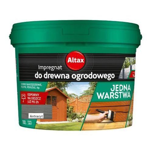 Altax - impregnat do drewna ogrodowego, antracyt, 10 l (i)