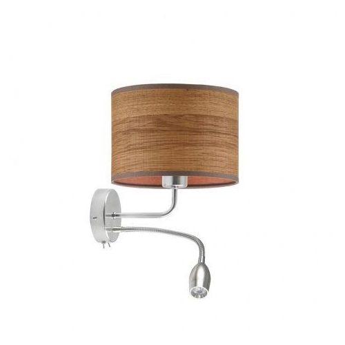 Nowoczesny kinkiet do sypialni led capri eco z włącznikami marki Lysne