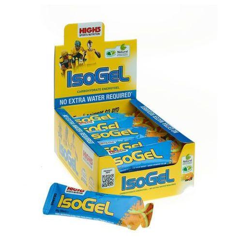 High5 isogel żywność dla sportowców orange 25 x 60ml 2018 zestawy i multipaki