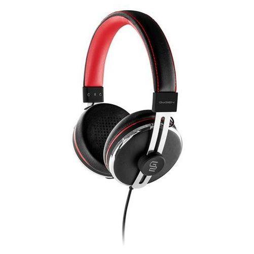 GoGEN słuchawki nauszne HC 01, czarny/czerwony