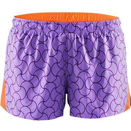 CRAFT Focus Race Shorts - damskie spodenki startowe (fioletowy)