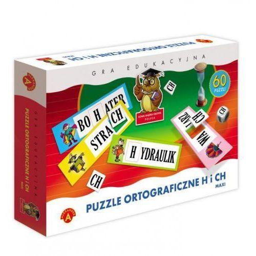Alexander Puzzle ortograficzne - h, ch - wiek 7+ (5906018004632)