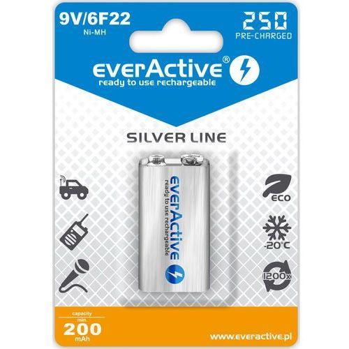 Akumulatorek 9v 6f22 250 mah professional line marki Everactive