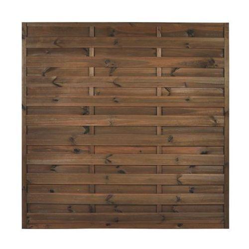Płot szczelny 180x180 cm drewniany NIVE NATERIAL (5901171178688)