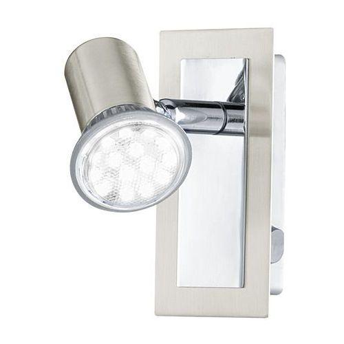 Kinkiet Eglo Rottelo 90914 lampa ścienna 1x3W GU10 satyna/chrom (9002759909147)