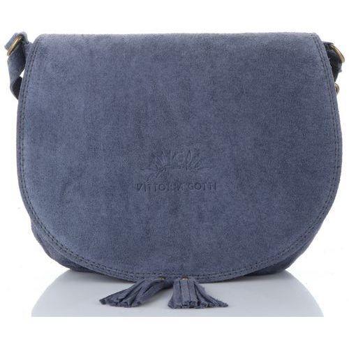 53dd94b9cb96b Torebki · Vittoria gotti uniwersalne torebki skórzane listonoszki damskie  do noszenia na co dzień ...