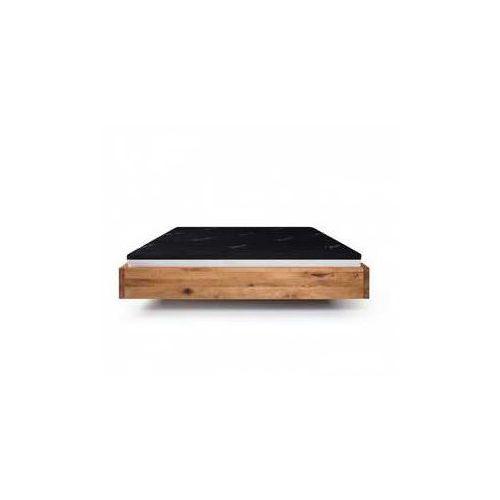 Designerskie łóżko z litego drewna olchowego do loftu pool marki Mazzivo