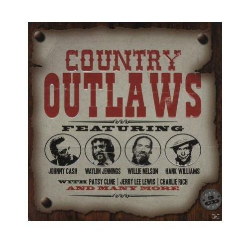 Union square music Różni wykonawcy - country outlaws (0698458655325)