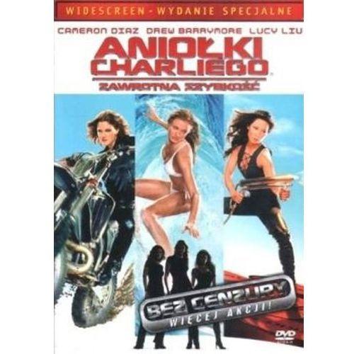 Imperial cinepix Aniołki charliego 2: zawrotna szybkość (dvd) - mcg mcg darmowa dostawa kiosk ruchu (5903570113468). Najniższe ceny, najlepsze promocje w sklepach, opinie.