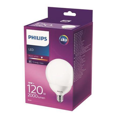 Żarówka LED Philips G93 E27 18 W 2000 lm mleczna barwa ciepła