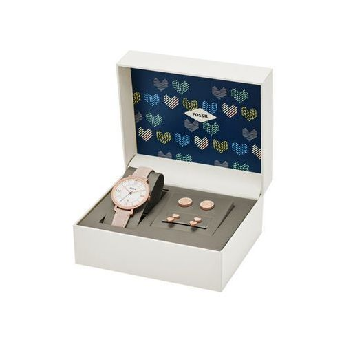 - zegarek es4202set + kolczyki marki Fossil