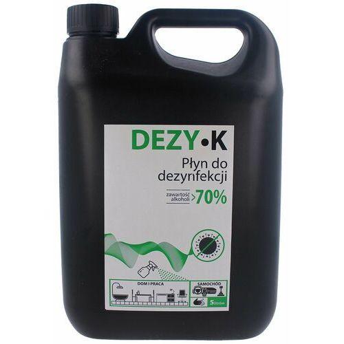 Płyn do dezynfekcji rąk, powierzchni KTJ DEZY-K 70%, 5L (5902479003603)