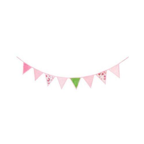 KIDS CONCEPT Girlanda kolor różowy rosa 3 m