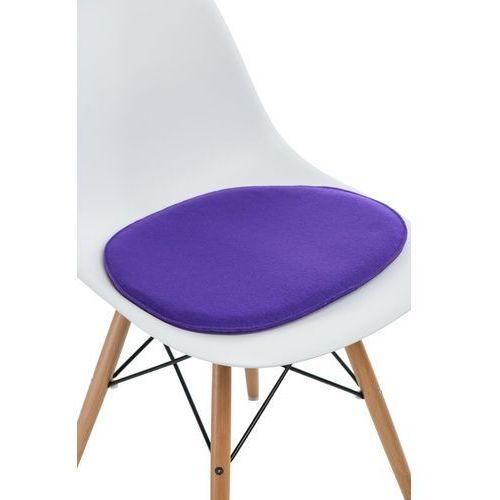 Poduszka na krzesło side chair fioletowa marki Intesi