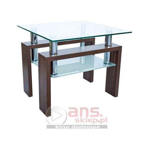 Szkłomal AFRODYTA KWADRAT - Stolik szklany, 60x60 cm