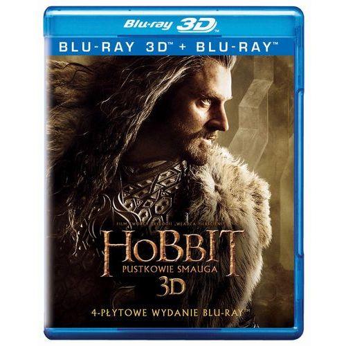 Hobbit: pustkowie smauga 3d. edycja specjalna (4 bd) marki Galapagos