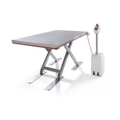 Flexlift hubgeräte Płaski stół podnośny, seria g, nośność 1000 kg, zakres podnoszenia 80 - 750 mm,