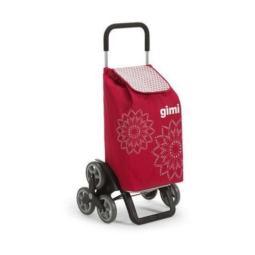 Altom Wózek na zakupy 30kg/56l. tris czerwony 6 kółek