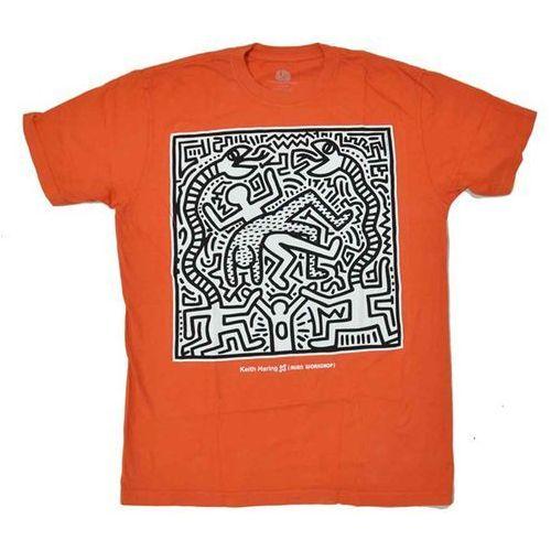 koszulka ALIEN WORKSHOP - Haring Snake Eater Orange (ORANZOVA) rozmiar: M