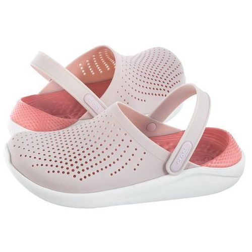 Klapki literide clog barely pink/white 204592-6pl (cr167-a), Crocs