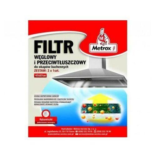 METROX Filtr KOMBI ( węglowy i p-tłuszczowy )