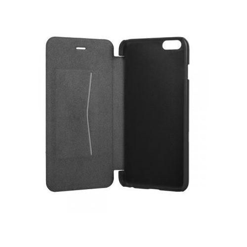 Pokrowiec XQISIT Folio Case Rana na iPhone 6 Plus Black Metallic z kategorii Futerały i pokrowce do telefonów