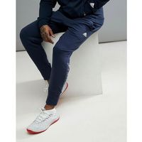 basketball dame trousers in navy cv7725 - navy marki Adidas