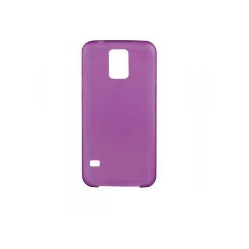 Nakładka XQISIT iPlate Ultra Thin dla Samsung Galaxy S5 Fioletowy