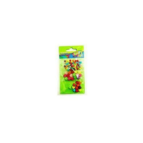 Ozdoba dekoracyjna koraliki plastikowe mix x3 marki Craft with fun