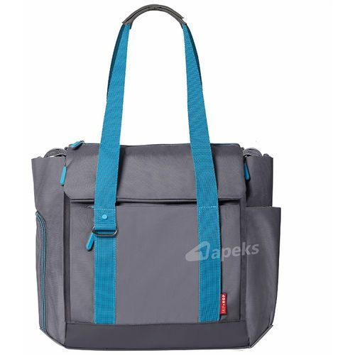 Skip Hop Fit All-Access torba do wózka dla mamy - Graphite/Aqua