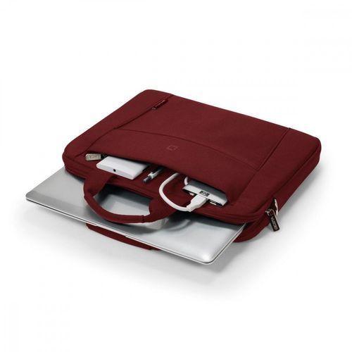 """Torba Dicota Slim na laptopa 11-12.5"""", czerwony (D31302) Darmowy odbiór w 21 miastach!, kolor czerwony"""
