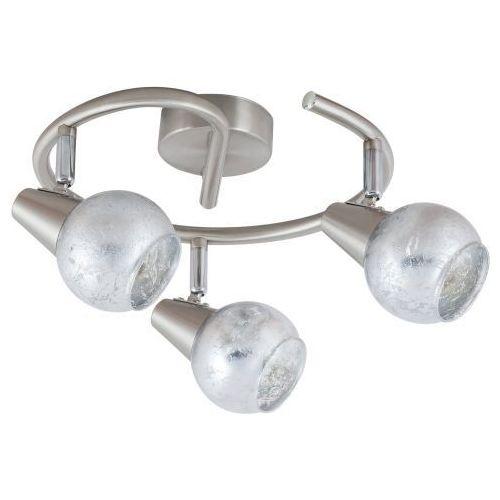 Rabalux Plafon spirala noelle 5928 lampa sufitowa 3x25w e14 chrom/satyna/srebrny (5998250359281)