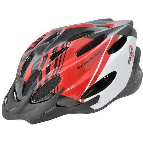 Axer bike Kask rowerowy axer sport a1454 voyager shiny pomarańczowy (rozmiar m) (5901780914547)