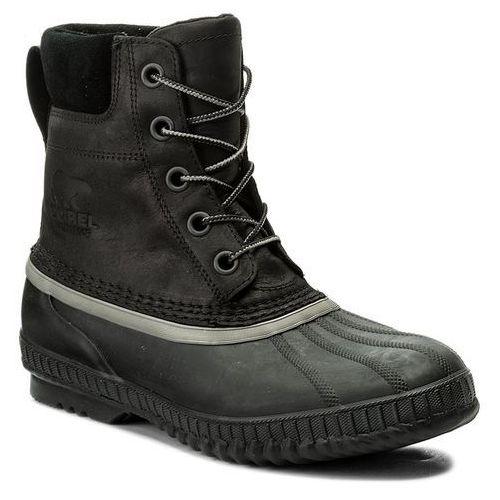 Śniegowce SOREL - Cheyanne II NM2575 Black/Black 010, kolor czarny