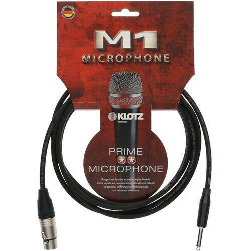 Klotz m1fp1k0500 kabel mikrofonowy xlr/jack 5 m