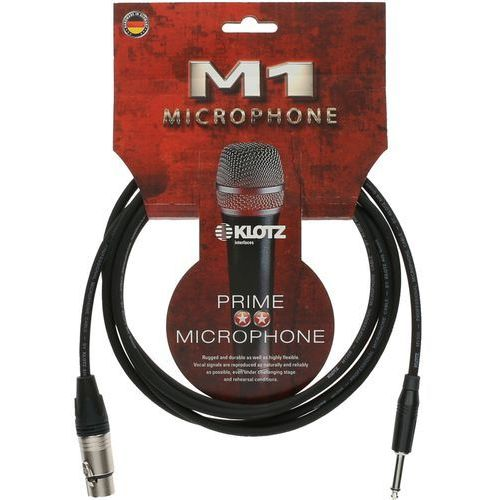 m1fp1k0500 kabel mikrofonowy xlr/jack 5 m marki Klotz