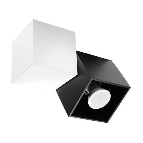 Lampa sufitowa occhio nero 2 biały/czarny sl.0473 - - black friday - 21-26 listopada marki Sollux