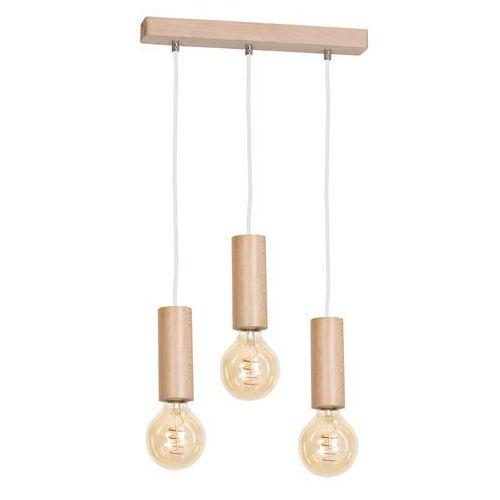 Lampa wisząca Milagro BOSCO 613 Naturalne drewno 3xE27 40W (5902693736134)