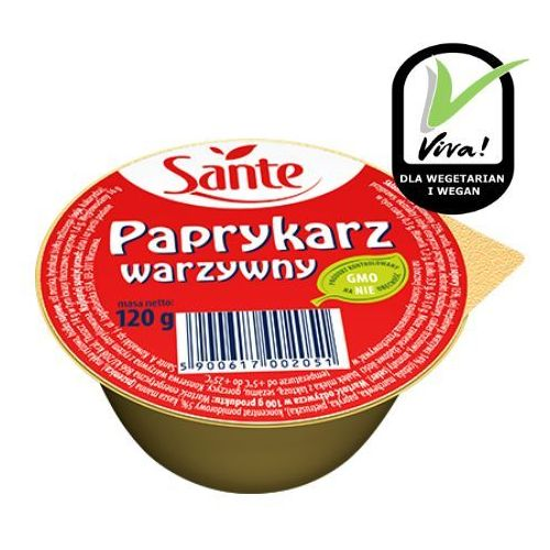 Paprykarz warzywny 120 g Sante (5900617002051)