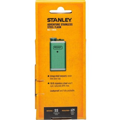 Piersiówka Stanley Adventure 236ml zielona (10-01564-017), Flachmann 236 ml
