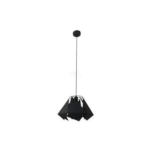 Lampa wisząca Spot Line Kite 9820104 1x60W E27 czarna, kolor czarny