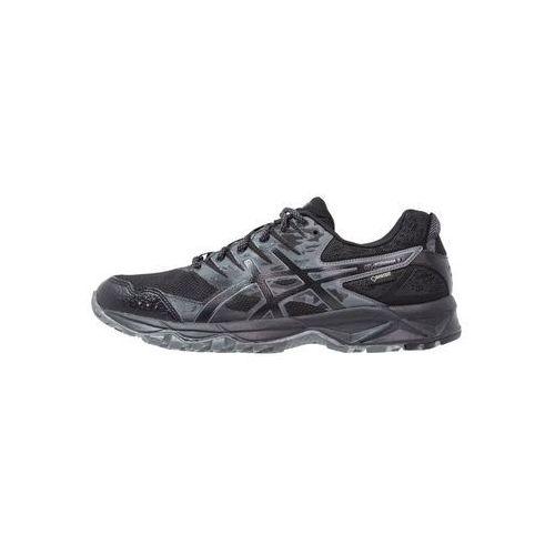 Asics gel-sonoma 3 g-tx but do biegania mężczyźni czarny buty do biegania antypoślizgowe